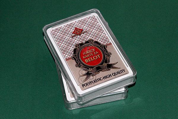 Igraće karte Belot polyplastic