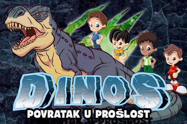Društvena igra Dinos - Povratak u prošlost