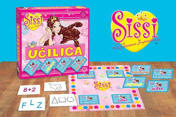 Edukativna igra Učilica Sissi - sadržaj