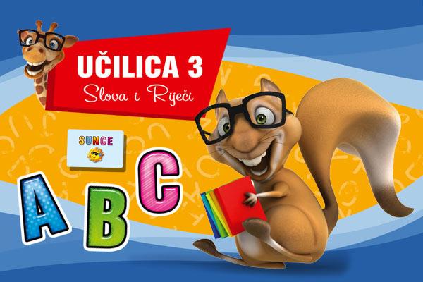 edukativna igra Učilica Slova i riječi
