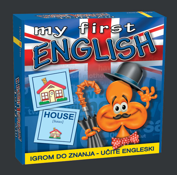 Edukativna igra - My first English