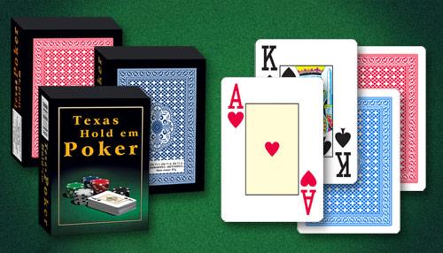 igraće karte Taxas Hold' em Poker komplet mob
