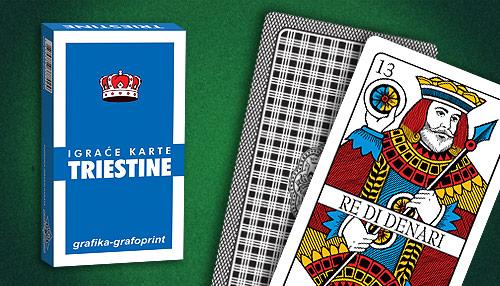 igraće karte Triestine, Briškula komplet