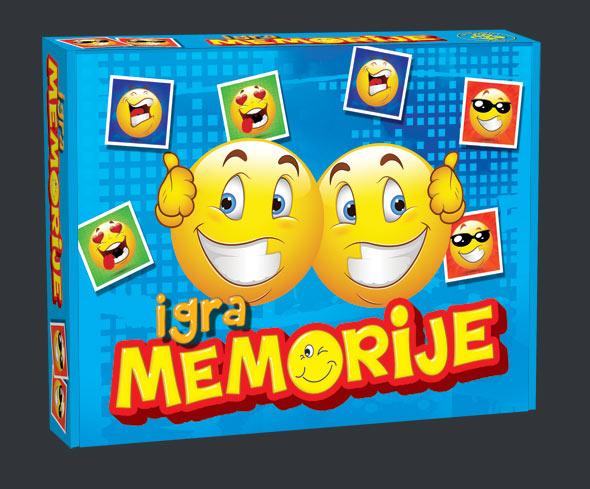 Igra memorije Smile