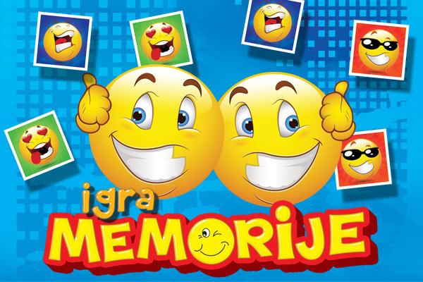 Igra memorije smiles