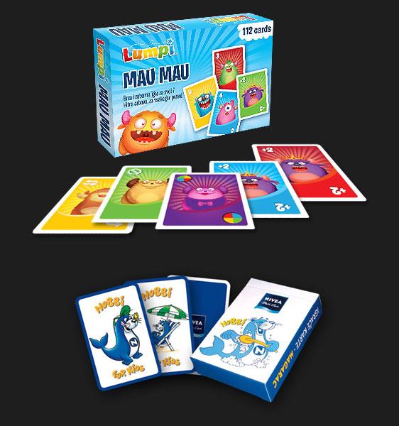 reklamne dječje igrace karte mau mau