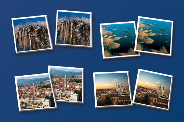 igra memori ljepota Hrvatske